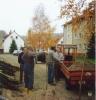 Waserleitung Vereinshaus verlegen Ocktober 1988