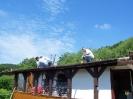 Juni 2007 Vereinsheim Dacherneuerung