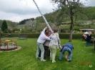 01.05.2010 KGV Maibaum aufstellen